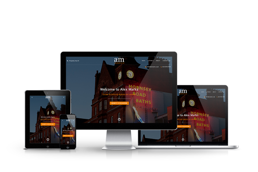 Alex Marks - New Estate Agent Website Launched
