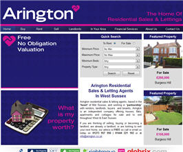 Basic Web Site - www.arington.co.uk