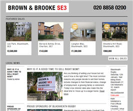 Bespoke Web Site - www.brownandbrooke.co.uk