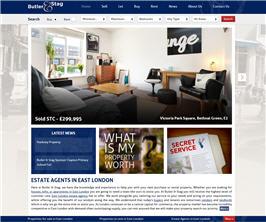 Bespoke Web Site - www.butlerandstag.com/