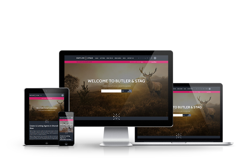 Butler & Stag - New Estate Agent Website Launched