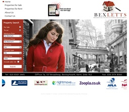 Pro Web Site - www.bexletts.co.uk