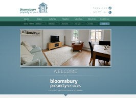 Bespoke Web Site - www.bloomsburyprops.co.uk/