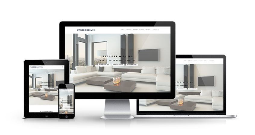 Carter Reeves - New Estate Agent Website Launched