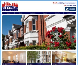 Basic Web Site - www.citywideestates.co.uk/