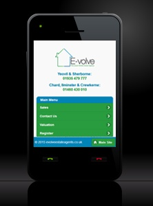 E-Volve Estate Agents - New Estate Agent Mobile Website Launched