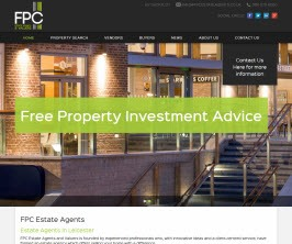 FPC Estate Agents - New Estate Agent Website Launched