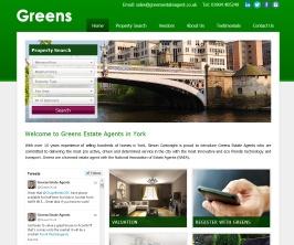 Pro Web Site - www.greensestateagent.co.uk/