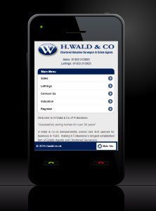 New Estate Agent Mobile Website Launched