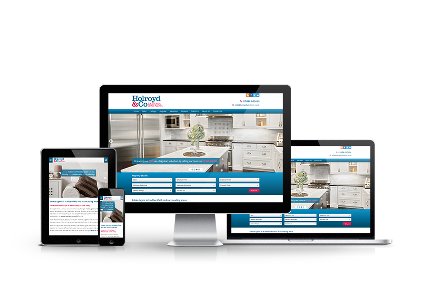 Holroyd & Co - New Estate Agent Website Launched