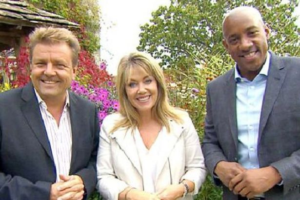 Homes Under The Hammer presenters: Martin Roberts, Lucy Alexander & Dion Dublin