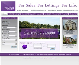 Basic Web Site - www.imperialproperties.co.uk