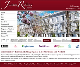 Pro Web Site - jamesradleyestates.design.estatesit.net