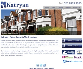 Basic Web Site - www.katryan.co.uk
