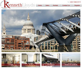 Basic Web Site - www.kennethlloyds.co.uk