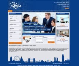 Basic Web Site - www.kingslondon.co.uk/