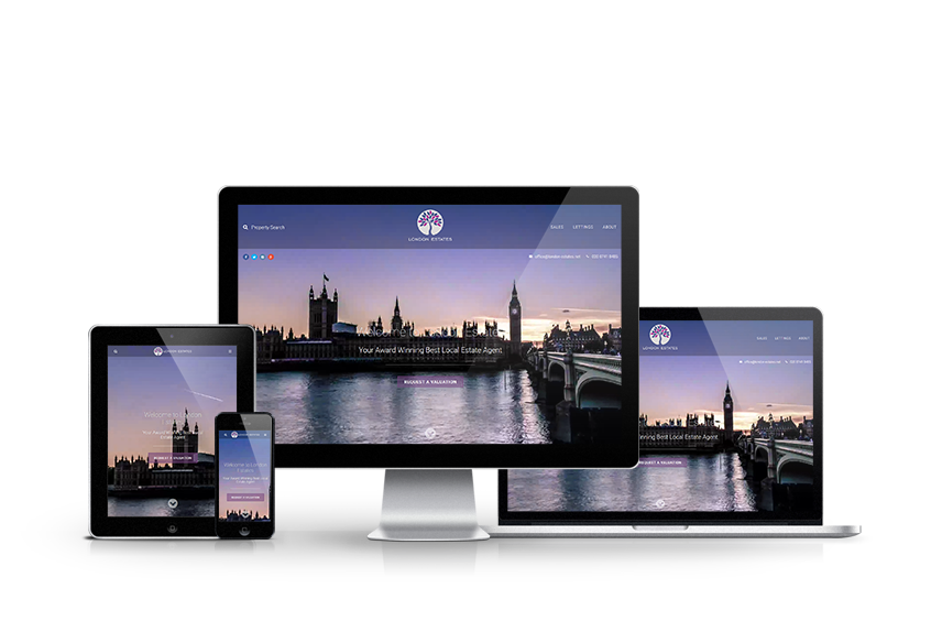 London Estates - New Letting Agent Website Launched