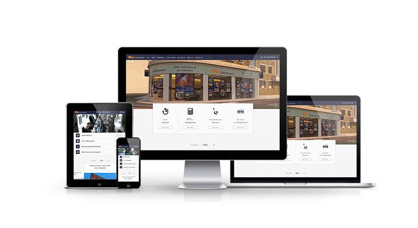 Liv International- New Estate Agent Responsive Website Launched