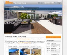 Bespoke Web Site - www.livhomes.com