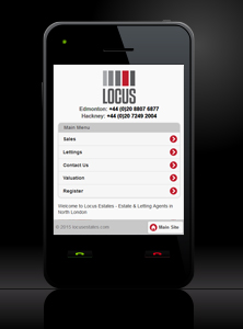 Locus Estates - New Estate Agent Mobile Website Launched