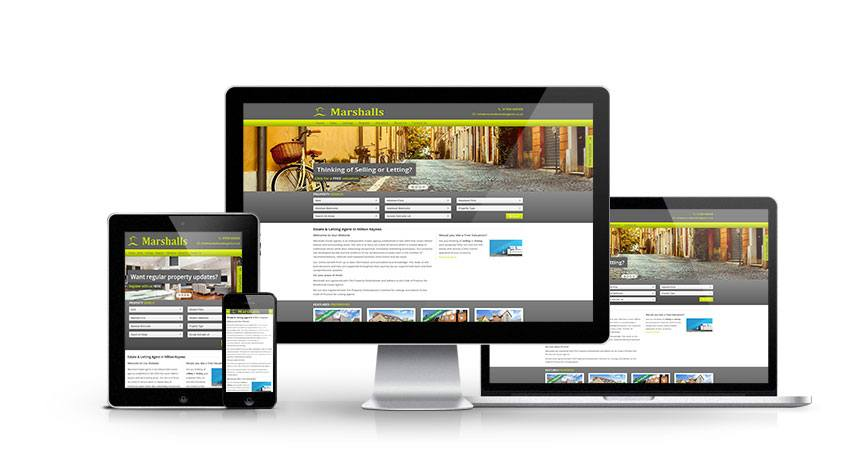 Marshalls - New Estate Agent Website Launched