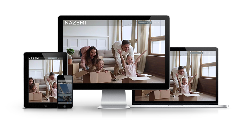 Nazemi - New Estate Agent Website Launched