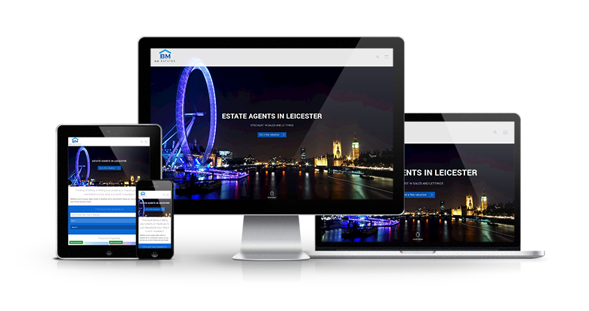 BM Estates - New Estate Agent Website Launched