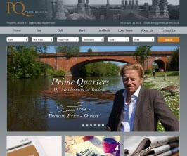 Prime Quarters - New Estate Agent Website Launched