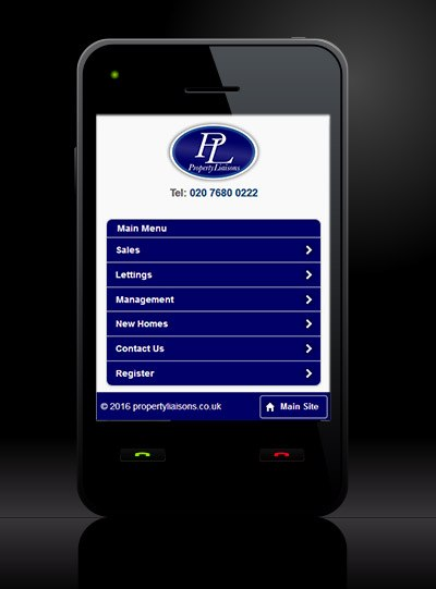 Property Liaisons - New Estate Agent Mobile Website Launched