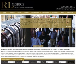 Bespoke Web Site - www.rlmorrisproperty.co.uk