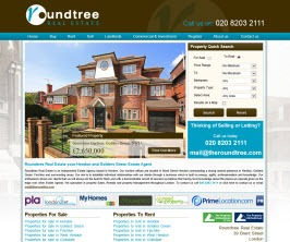 Pro Web Site - www.theroundtree.com