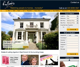 Bespoke Web Site - www.roybrooks.co.uk
