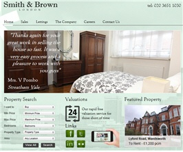 Pro Web Site - www.smithandbrownlondon.co.uk