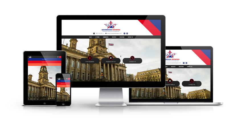 Sovereign Estates - New Estate Agent Website Launched