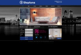 Pro Web Site - www.steptons.co.uk/