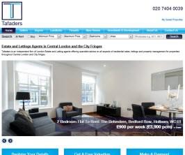 Bespoke Web Site - www.tafaders.com