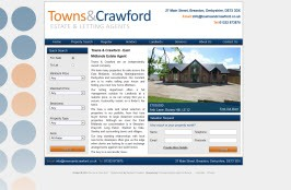 Basic Web Site - www.townsandcrawford.co.uk/