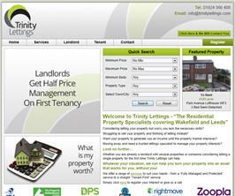 Basic Web Site - www.trinitylettings.com