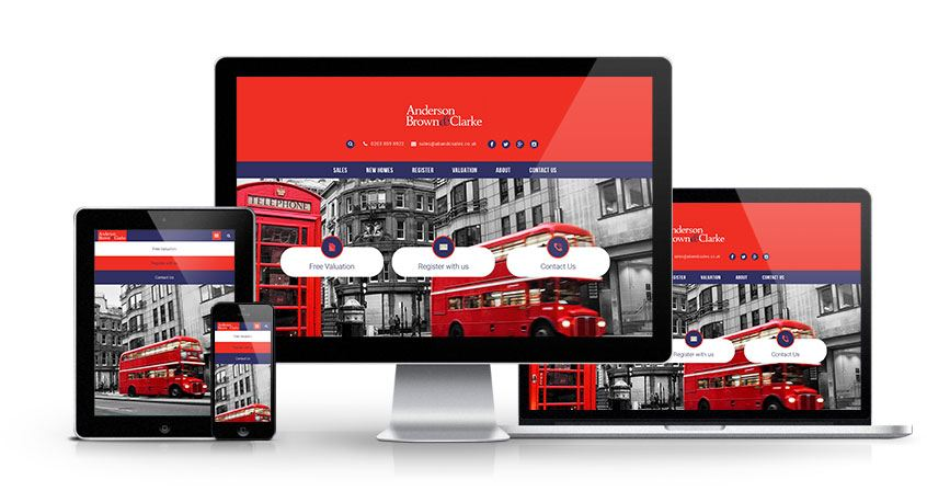 Anderson Brown and Clarke - New Estate Agent Website Launched