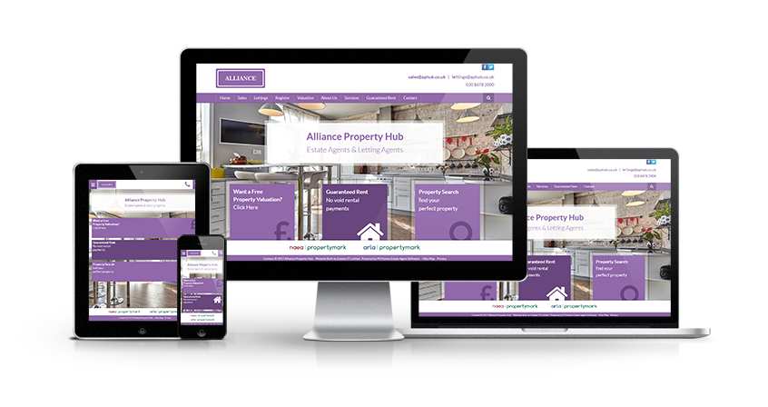 Alliance property Hub - New Estate Agent Website Launched