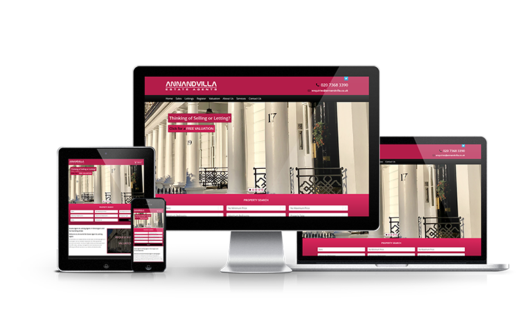 Annandvilla Estate Agents - New Estate Agent Website Launched