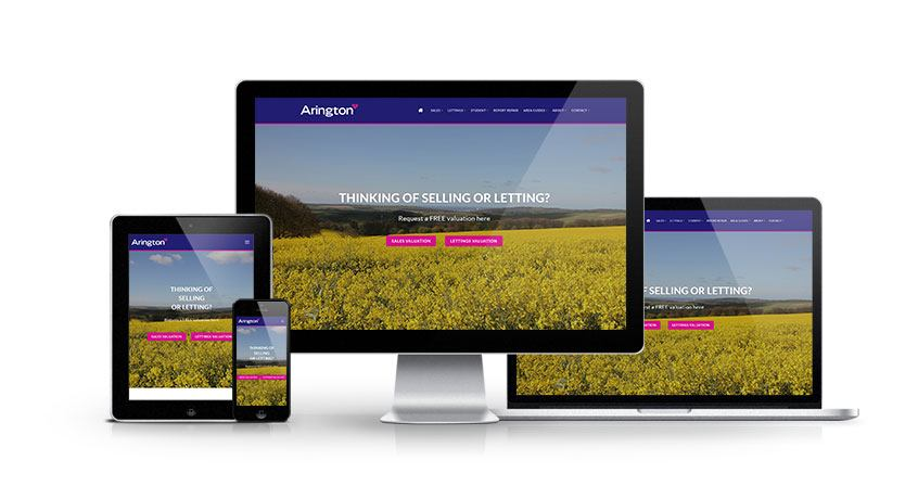 Arington - New Estate Agent Website Launched