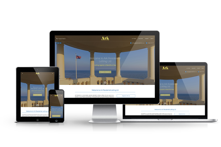 Ark Residential Lettings - New Estate Agent Website Launched