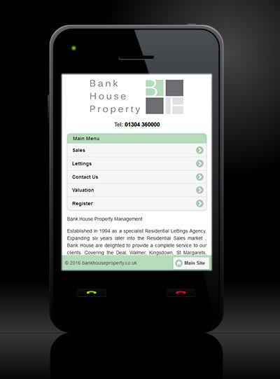 Bank House Property - New Estate Agent Mobile Website Launched