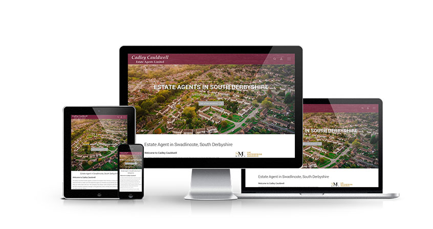 Cadley Cauldwell - New Estate Agent Website Launched