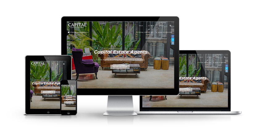 Capital Estate Agents - New Estate Agent Website Launched