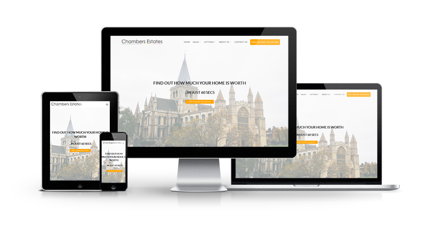 Chambers Estates - New Estate Agent Website Launched