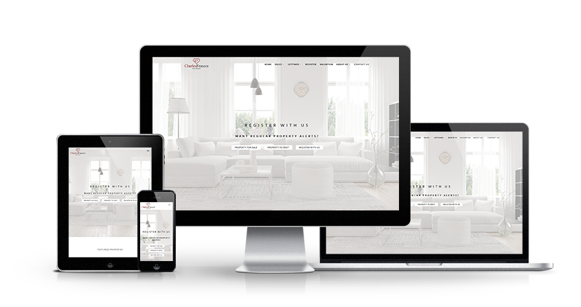 Charles Frances Properties - New Estate Agent Website Launched
