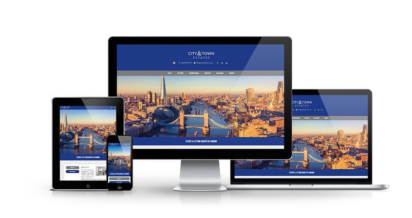 City and Town - New Estate Agent Website Launched