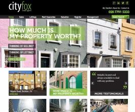 Bespoke Web Site - www.city-fox.co.uk